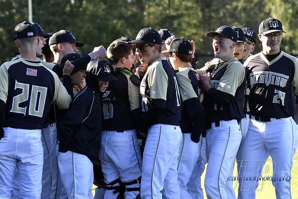 Mountain View Baseball Spring 2019