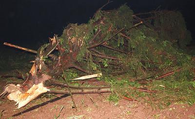 High Winds Damage Properties on Kettle Road, Walker Township (5-23-2011)