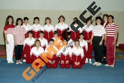 1987-1988 Women's Gymnastics