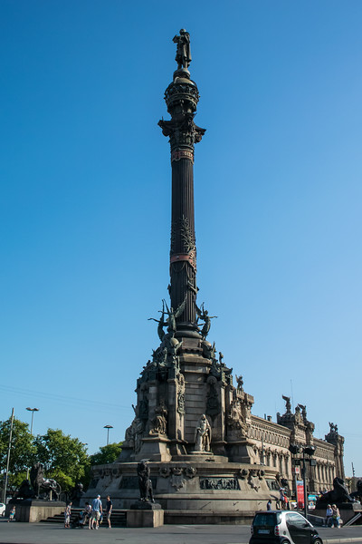 Another Christopher Columbus statue