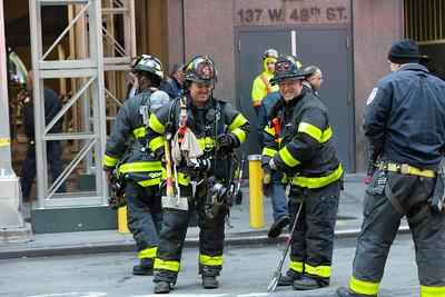 12.03.19 - Manhole Fire