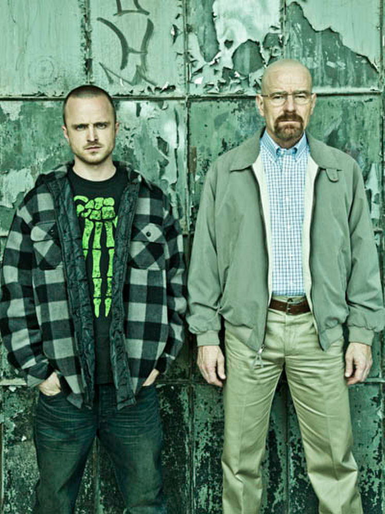 . 2. �Breaking Bad� (AMC) � Still surprising, still mesmerizing, the downward spiral of Walter White (Bryan Cranston) continued apace in Season 5. Vince Gilligan pushed deeper into the relationships of the various enemies of Walt, from his wife to his brother-in-law the DEA agent, from the drug dealers he�s crossed, to his partner, Jesse (Aaron Paul, pictured, left, with Cranston). We assume he�s got to get his comeuppance, but how? The first half of the final season beautifully set up the action to flow in any direction.