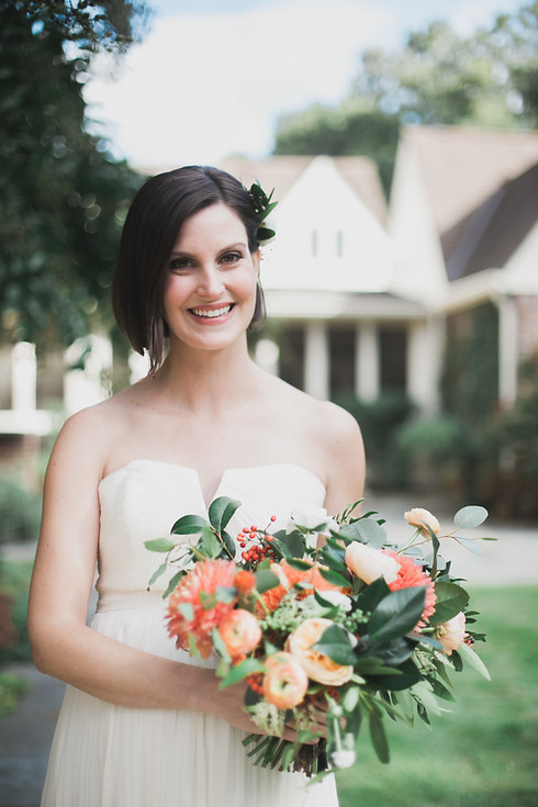 portrait of Nashville bride
