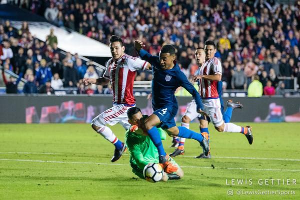 USMNT vs Paraguay 3-27-2018