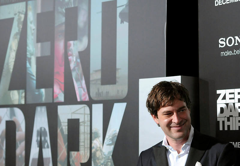 """. Actor Mark Duplass arrives at the premiere of the feature film \""""Zero Dark Thirty\"""" at the Dolby Theatre in Los Angeles on Monday, Dec. 10, 2012. (Photo by Dan Steinberg/Invision/AP)"""