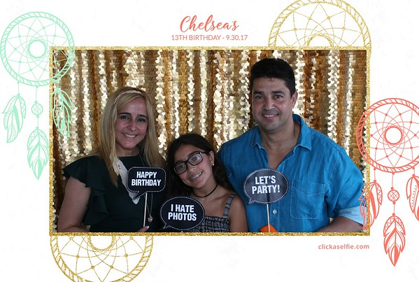 Chelsea's 13th Birthday Party
