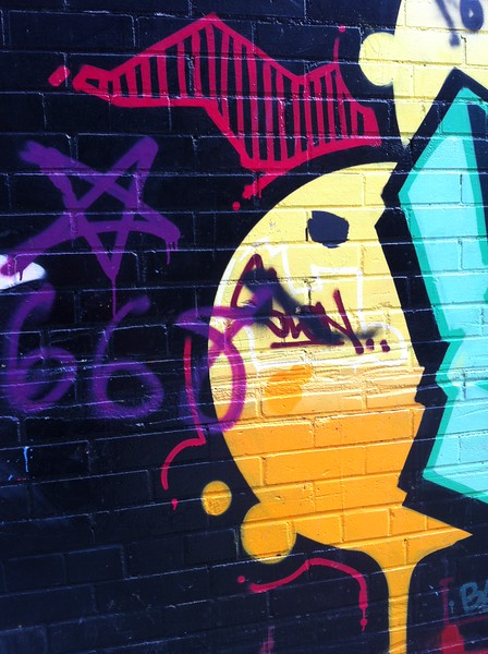 Kingston Photo Club Toronto Graffiti Alley Trip