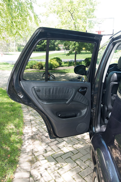 ML55 rear passenger doors