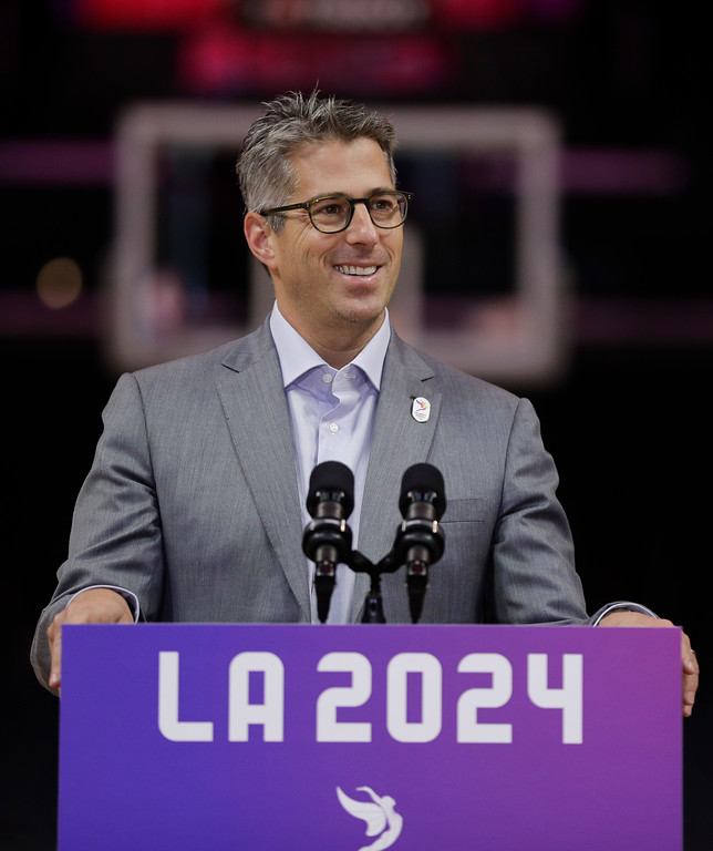 . <b>5. Casey Wasserman, 42, Wasserman Founder and CEO </b> <br>Aside from his flourishing sports agency, the grandson of late Hollywood mogul Lew Wasserman is the chairman of an L.A. Olympic Candidature Committee  ...   (AP Photo/Jae C. Hong)