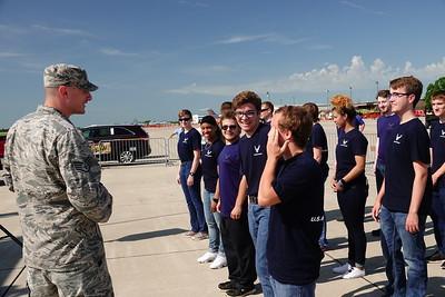 Sunday Enlistment Ceremony
