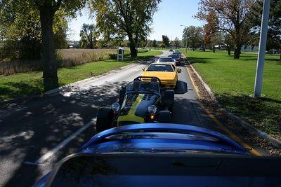 St. Louis Lotus NSX car Cruise 10/24/04