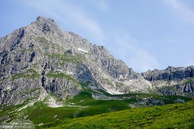Widderstein P.2360 mountain tour, 2015-07-03