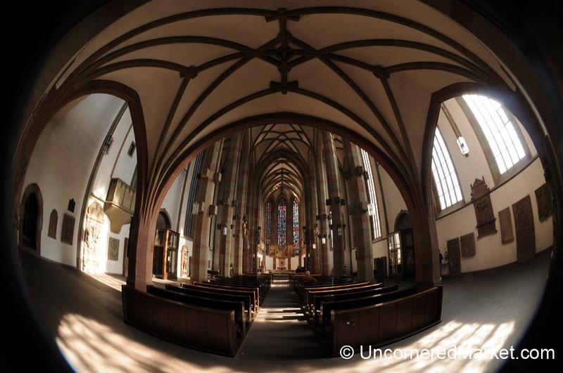 Inside Marienkapelle in Wurzburg, Germany