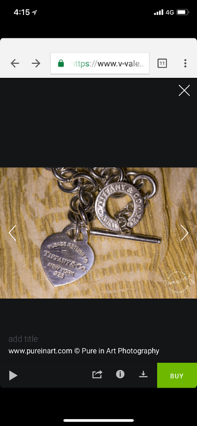 Actual bracelet stolen. heart engraved with anniversary 5/24/18