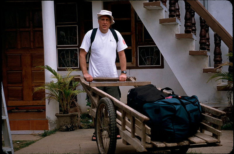 Mark the luggage porter