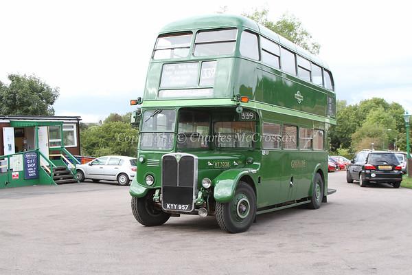 Vintage buses in London