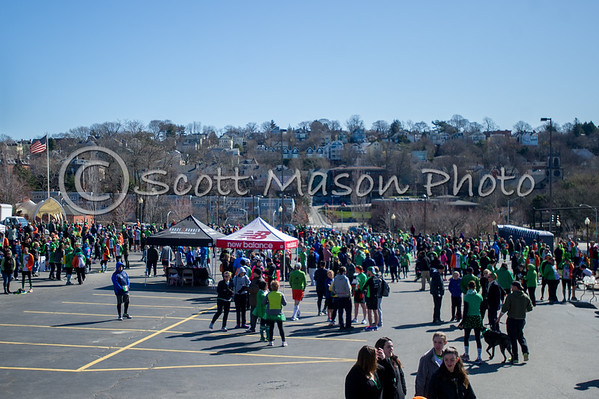 Guinness St Pats 5k Providence Start and Before