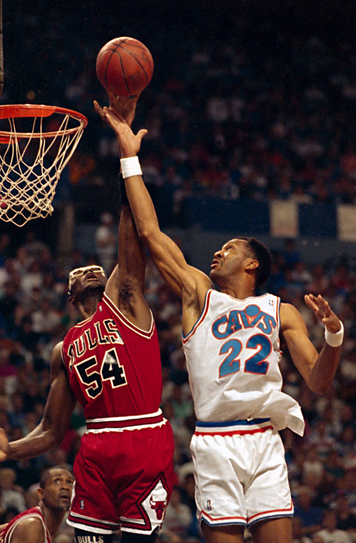 . 20. Larry Nance, shown at right  (AP Photo/Mark Duncan)