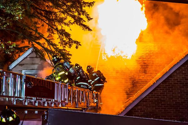 Ridgefield NJ 2nd alarm, 616 Elm Ave. 6-22-19