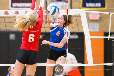 11-4-15 Benilde St. Margaret's v Minneapolis Washburn - Section 6AAA Volleyball Semifinals