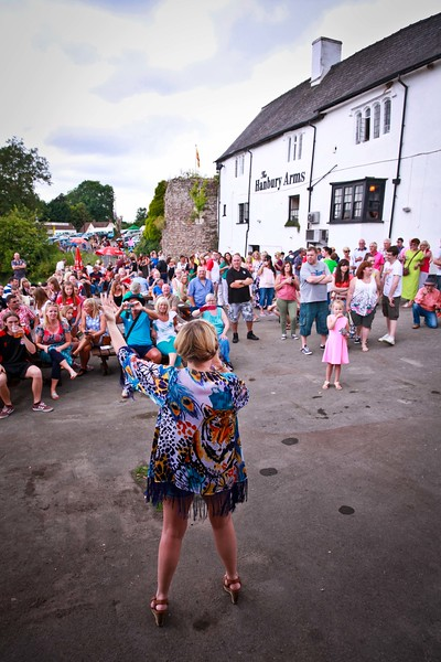 Caerleon Arts Festival 2014 The Hanbury Arms stage