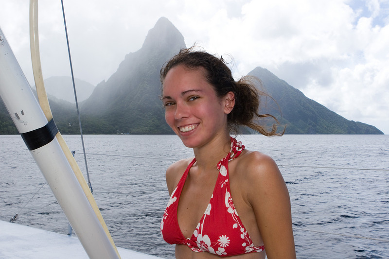The Pitons ;-)