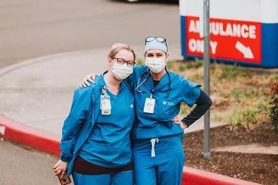 Corvallis Health Care Worker Appreciation Parade