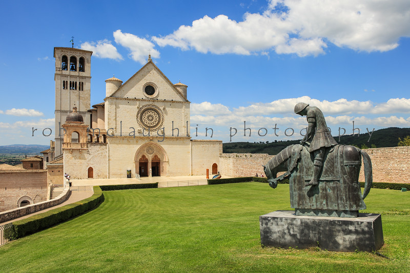 Basilica of St. Francis , Assisi , Umbria