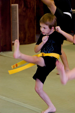 Gel and Nicky Karate 2012