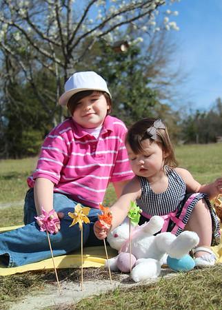 Amelia and Cameron - Easter