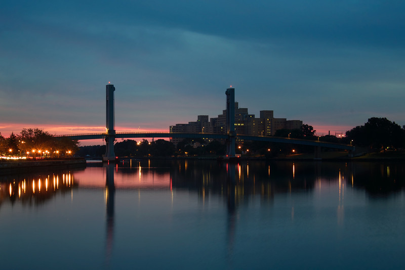 Wards Island Bridge at Dawn