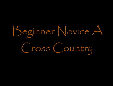 Beginner Novice Cross Country