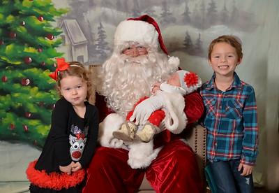Montecito Heights Santa Party 2015