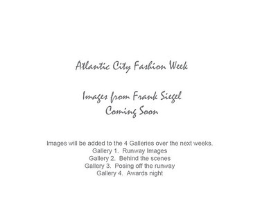 Atlantic City Fashion Week Runway Images