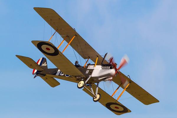 ZK-TVC - RAF RE-8 replica