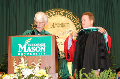 VIPs at Mason's Commencement