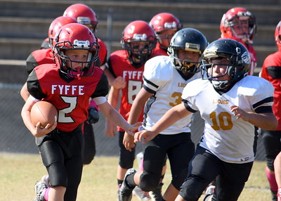 Fyffe vs. Crossville Youth football