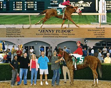 JENNY TUDOR - 9/16/2004