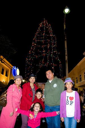 Bellflower Christmas Tree Lighting: November 30, 2012