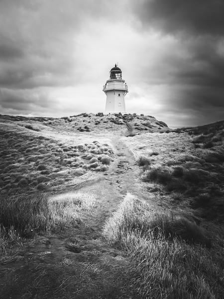 Waipapa Point, Lighthouse