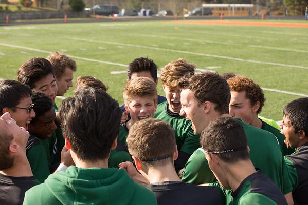 Soccer District Playoffs vs Western Mennonite