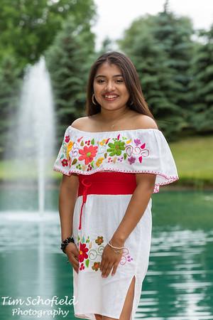 Alma Salinas Graduation