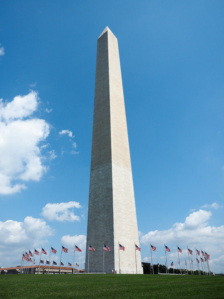 Washington Monument in Washington, DC