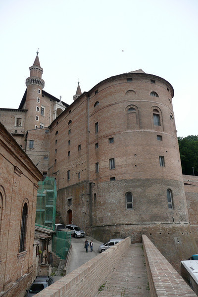 Palazzo Ducale. Urbino, Marche