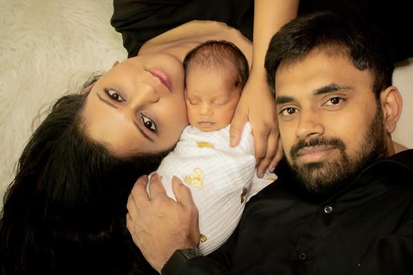 Newborn Sri Kian - July 2021