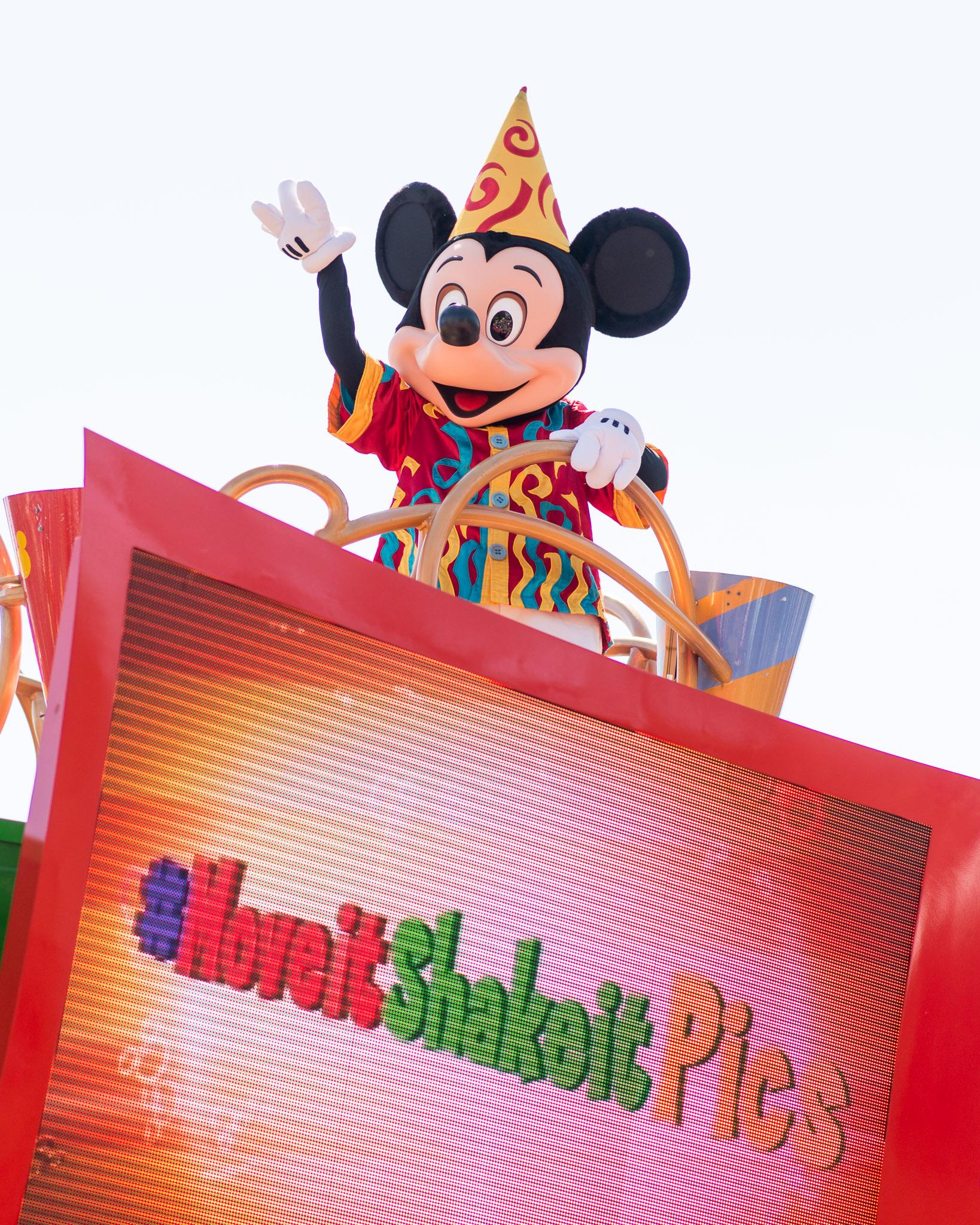 Mickey Mouse - Walt Disney World Magic Kingdom