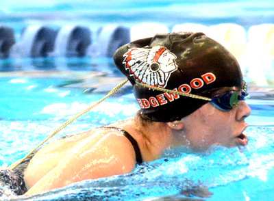Division 2 sectional swimming at Spire 2-8-19