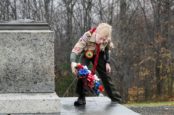 Veterans Day at Bennington Battlefield - 111119