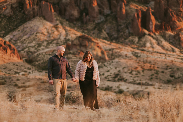 Trace & Madison | Lost Dutchman Engagement