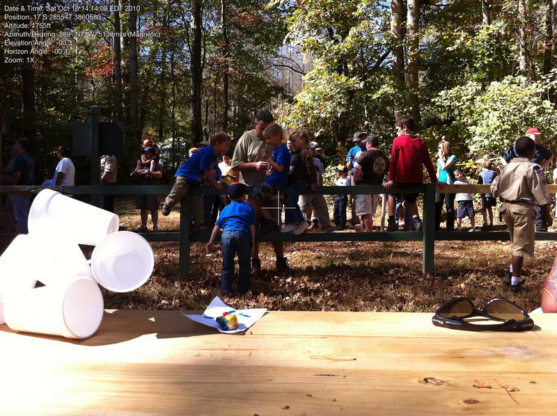 Fall Cub Scout Camping